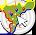 Mapa del Eje Cafetero