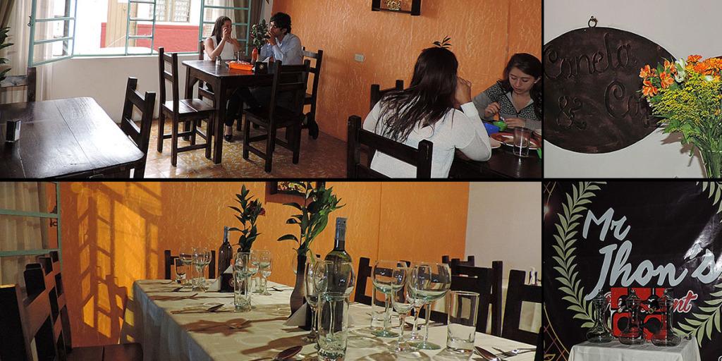 Restaurantes Mr.Jhons y Canela